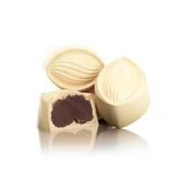 Ganache mit Kakao und weißer Schokolade (ref.41)