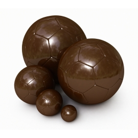 Ballon Football en Chocolat