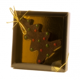 Chocolate Christmas Tree  Texte perso-No