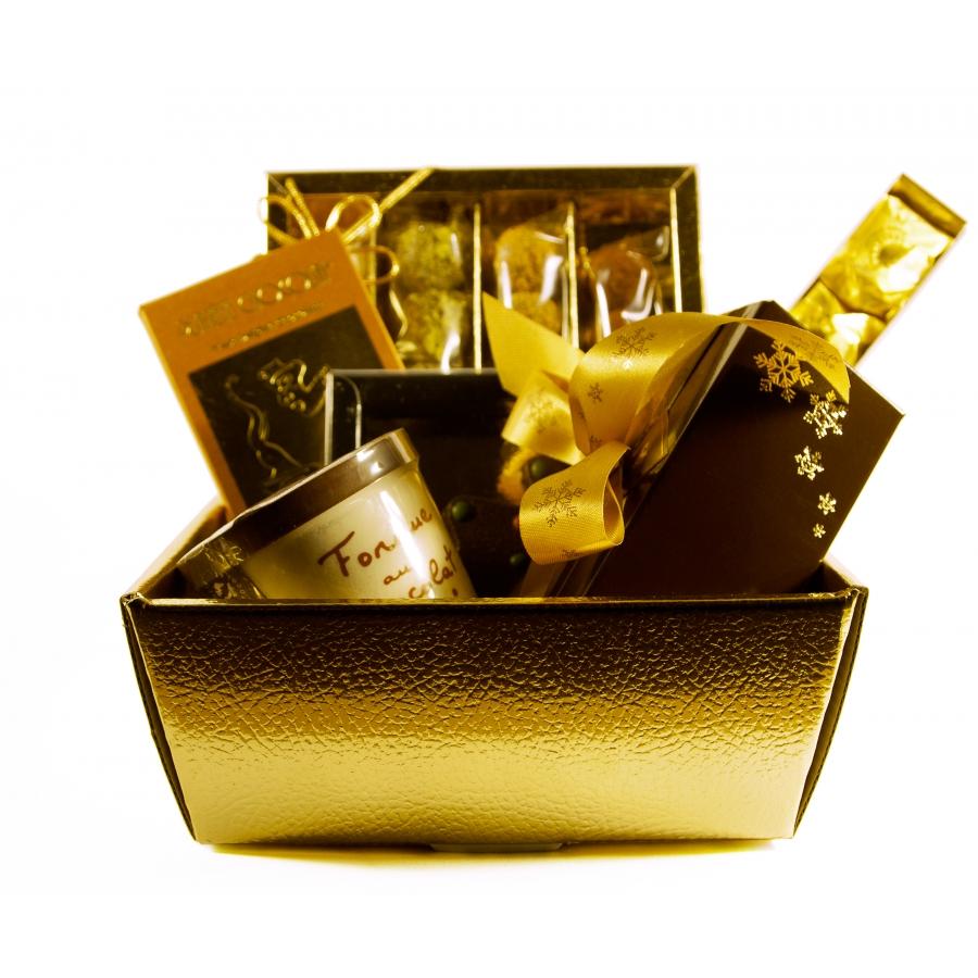 Geschenkkorb für Leckermäuler zu Weihnachten – Paket