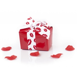 "250g ""kiss"" chocolate box"