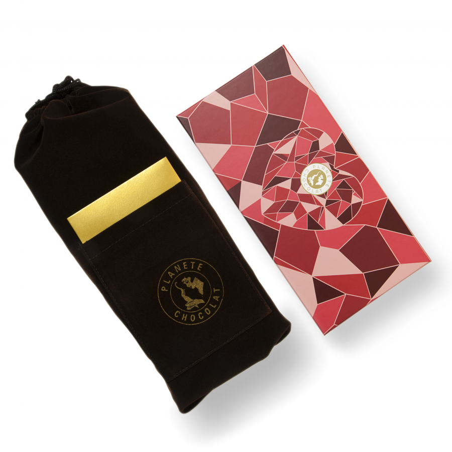 Luxurious Heart-shaped Chocolate Box, Created For Lovers