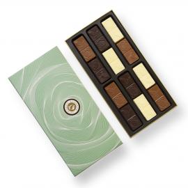 Auswahl zuckerfreier Schokolade
