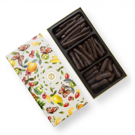 Fruitige chocolade sticks