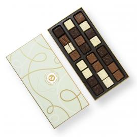Cofre de agradecimiento de chocolate