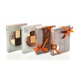 Eine Weltreise mit Caraques - Schokoladentäfelchen