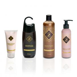 Pflegeprodukte mit luxuriösem Duft