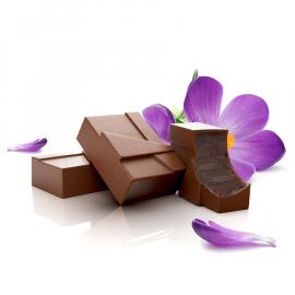 Ganache met viooltjes melk (ref. 1)
