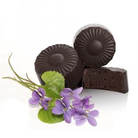 Ganache mit Viole und dunkler Schokolade (ref. 51)