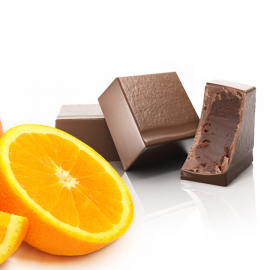 Ganache met sinaasappel (ref. 25)