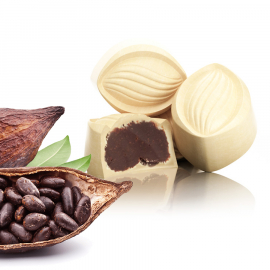 Ganache cacao blanc (ref. 41)