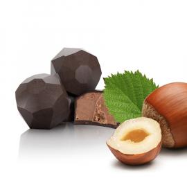 Gianduja mit dunkler Schokolade (ref. 42)