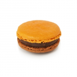 Chocolate - Orange macaroon