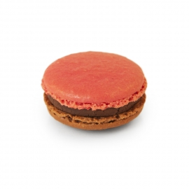 Chocolate - Raspberry macaroon