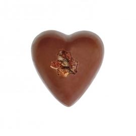 Coeur lait ganache cacao
