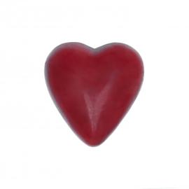 Coeur rouge ganache framboise