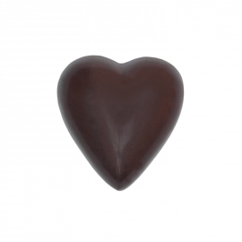 Heart dark with truffle ganache