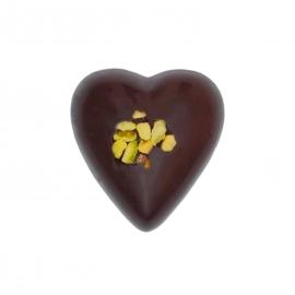 Coeur fondant ganache pistache