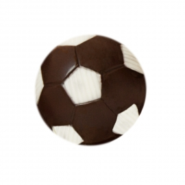 Black chocolate ball