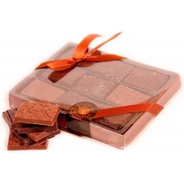 ... Sie sie mit einer Aufmerksamkeit aus Schokolade. - Planète Chocolat