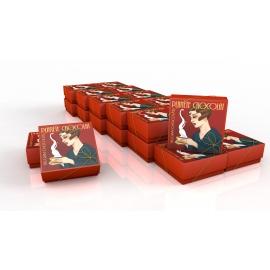 25 Schachteln belgischer Pralinen