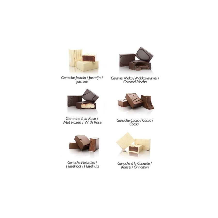 plan te chocolat pralinenschachtel 6 exklusive. Black Bedroom Furniture Sets. Home Design Ideas