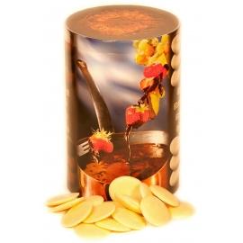Weißes Schokoladen-Fondue
