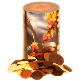 Gemischtes Schokoladenfondue