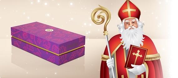 Schokolade zum Nikolaus