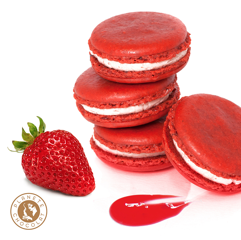 Macaroon of the month of June: Strawberry