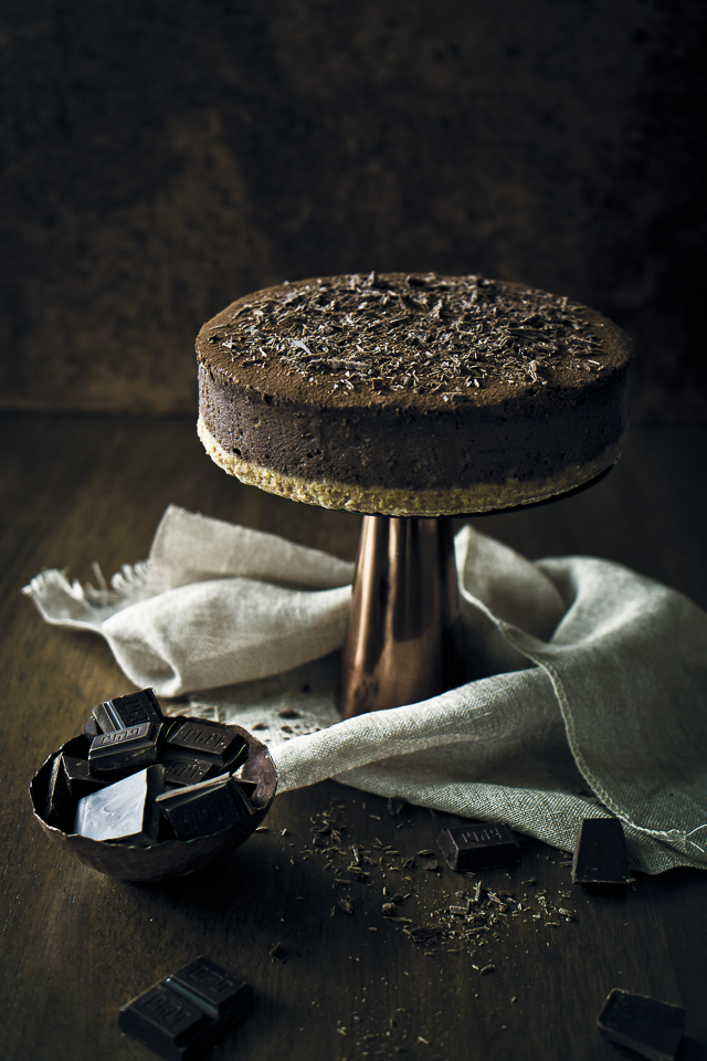 Belgian Chocolate Cheesecake recipe