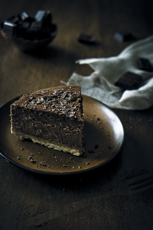 The most favorable recipe for a Chocolate Cheesecake!