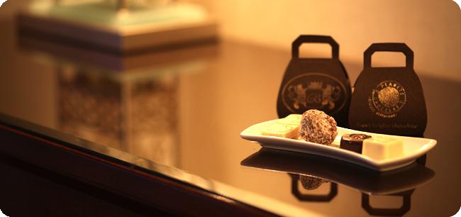 Chocolats pour Hotel
