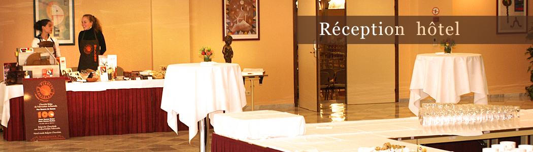 Empfang hotel