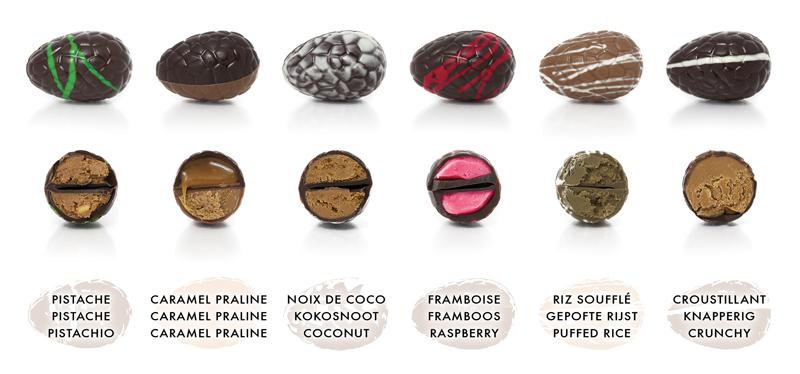 oeuf de pâques planète chocolat