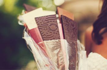 Bouquet de Bruxelles en chocolat pour la Saint-Valentin