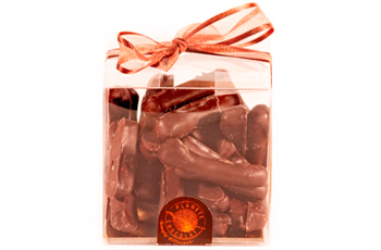 Gingembre enrobé de chocolat pour la Saint-Valentin