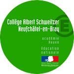 Demonstratie met scholieren van Albert Schweitzer