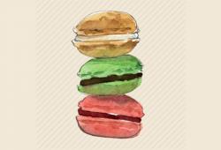 Macarons in Brussel