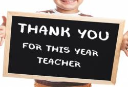 End of the school year, which gift to offer to teachers?