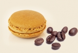 October's coffee macaron